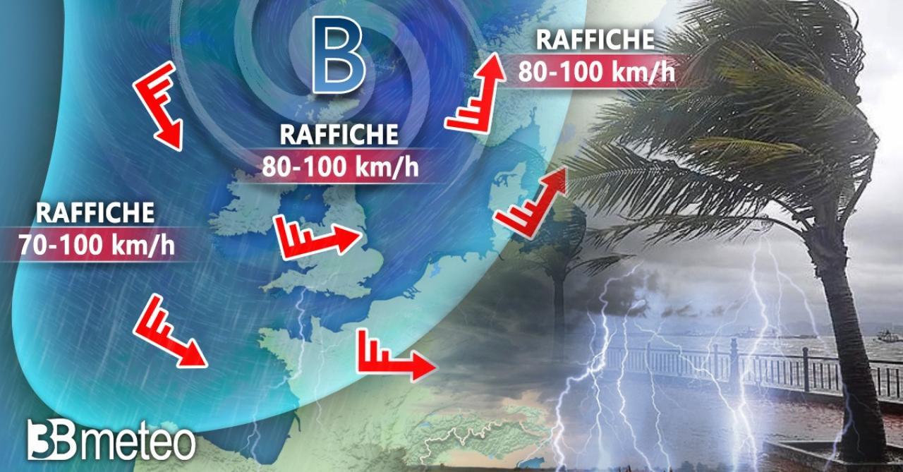 Meteo. Tempeste autunnali in arrivo sul Nord Europa