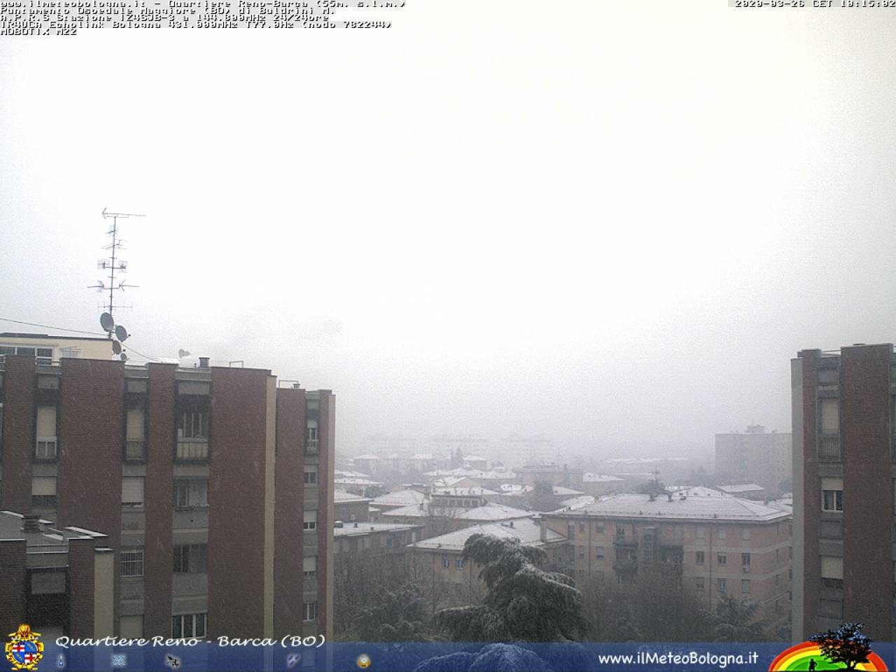 Meteo Bologna: neve giovedì mattina