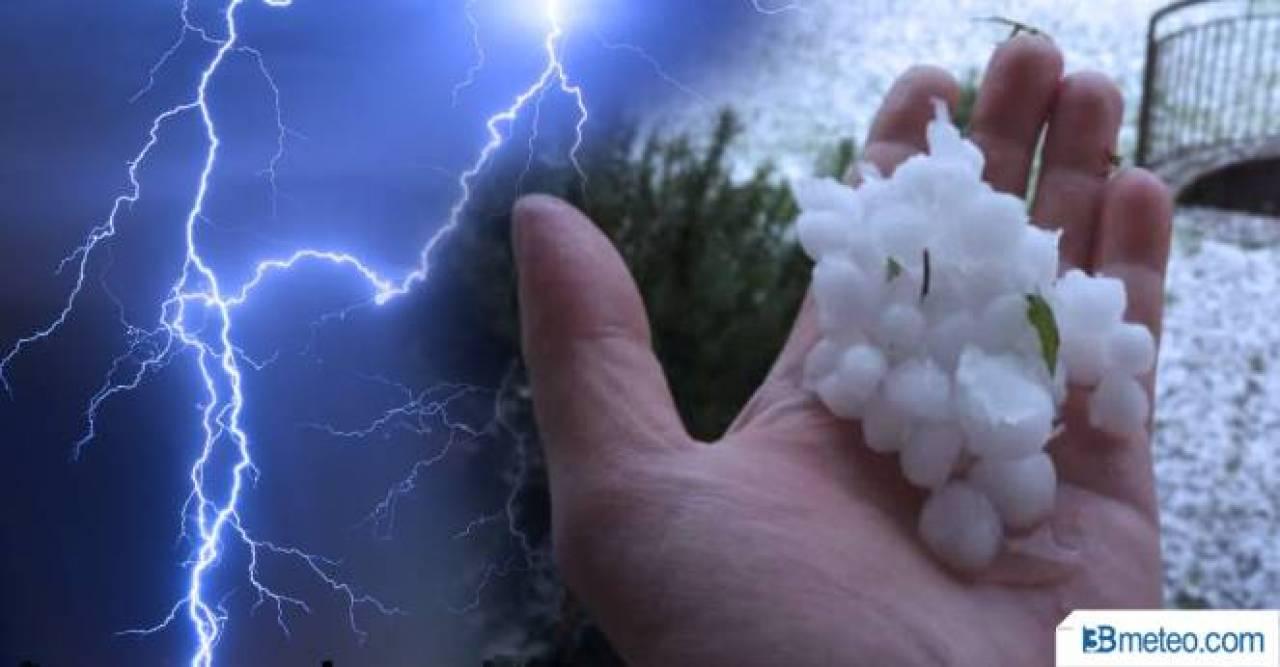 Meteo Emilia: ancora forti temporali imminenti