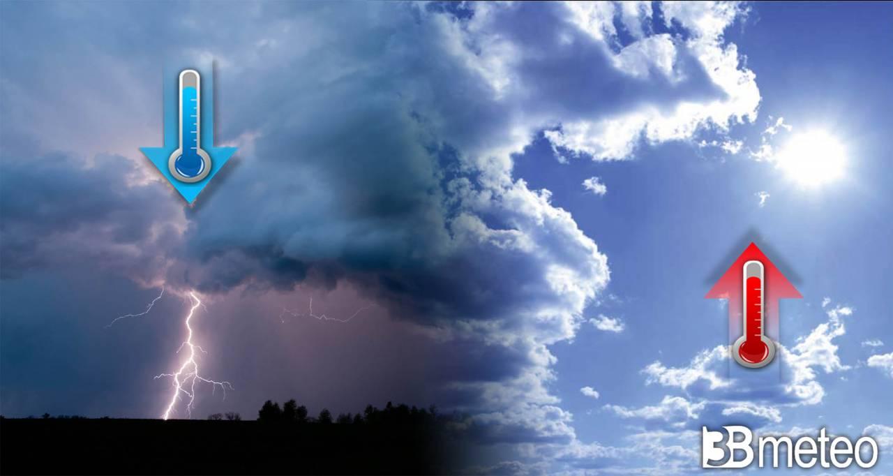 Meteo, fasi instabili e temperature fresche anche nel weekend ma poi si cambia