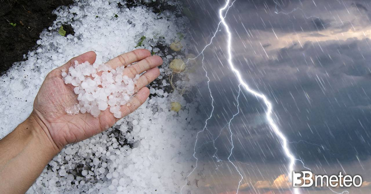 Meteo, forti temporali tra domenica e lunedì su parte del Nord