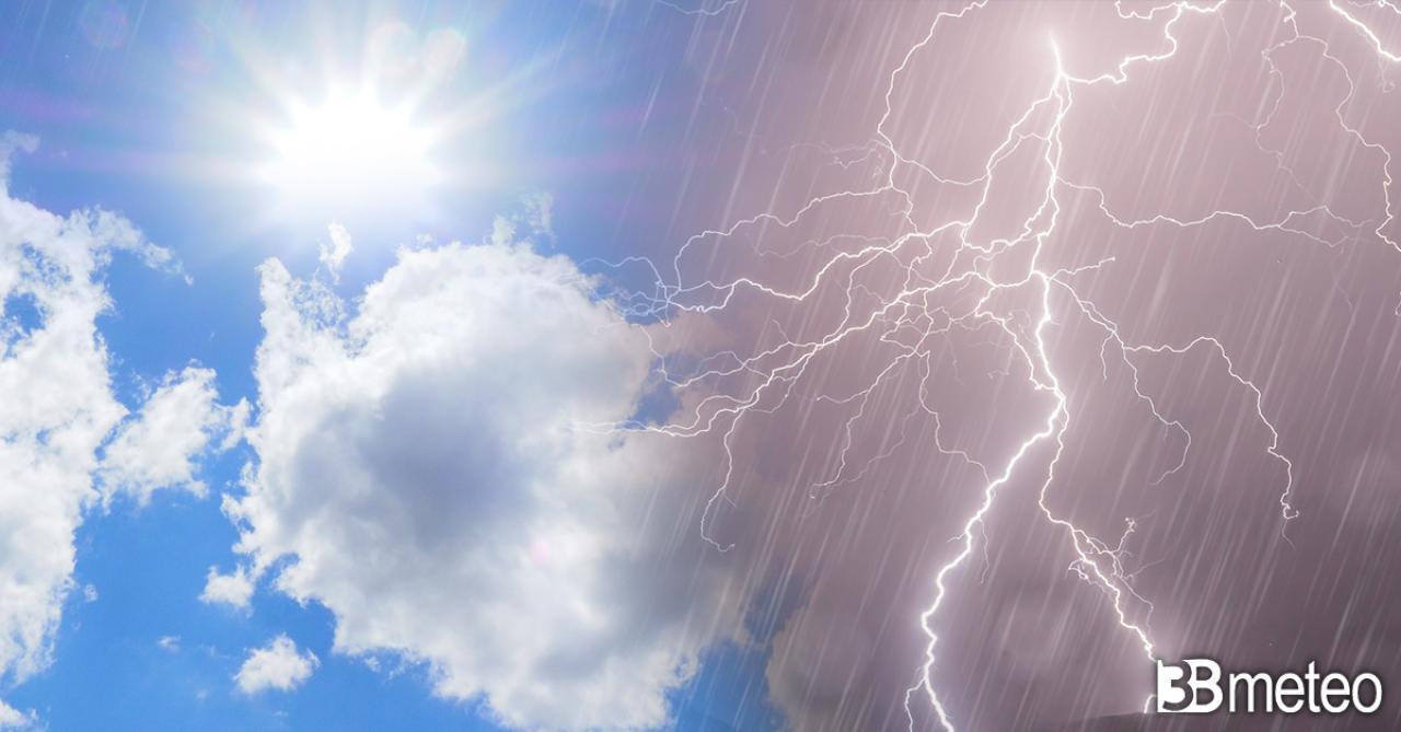 Meteo giovedì, tempo ancora a tratti instabile specie nel pomeriggio