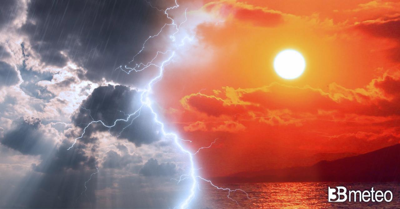 Meteo Italia. Tra sole e improvvisi temporali