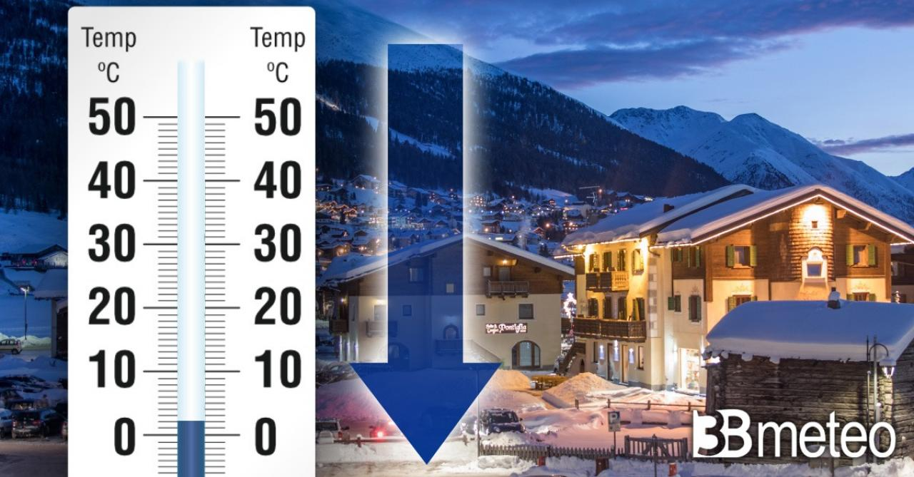 Meteo Italia: aria fredda in arrivo da domenica con neve anche a quote basse per il periodo
