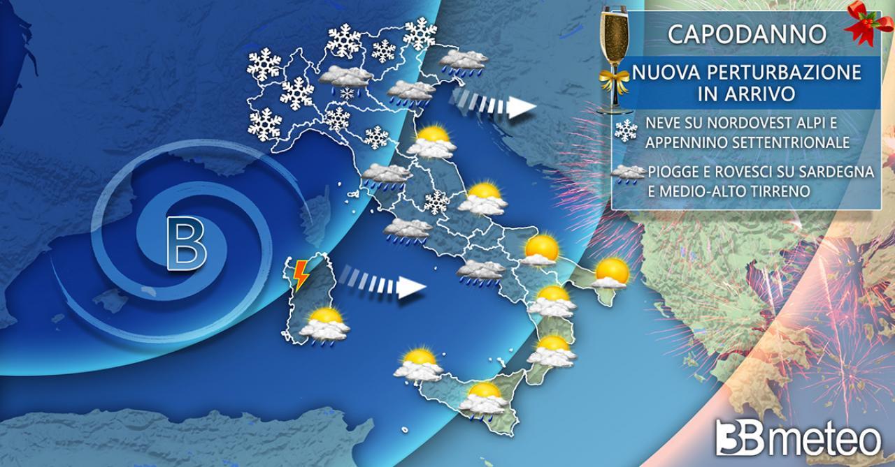 Meteo Italia capodanno