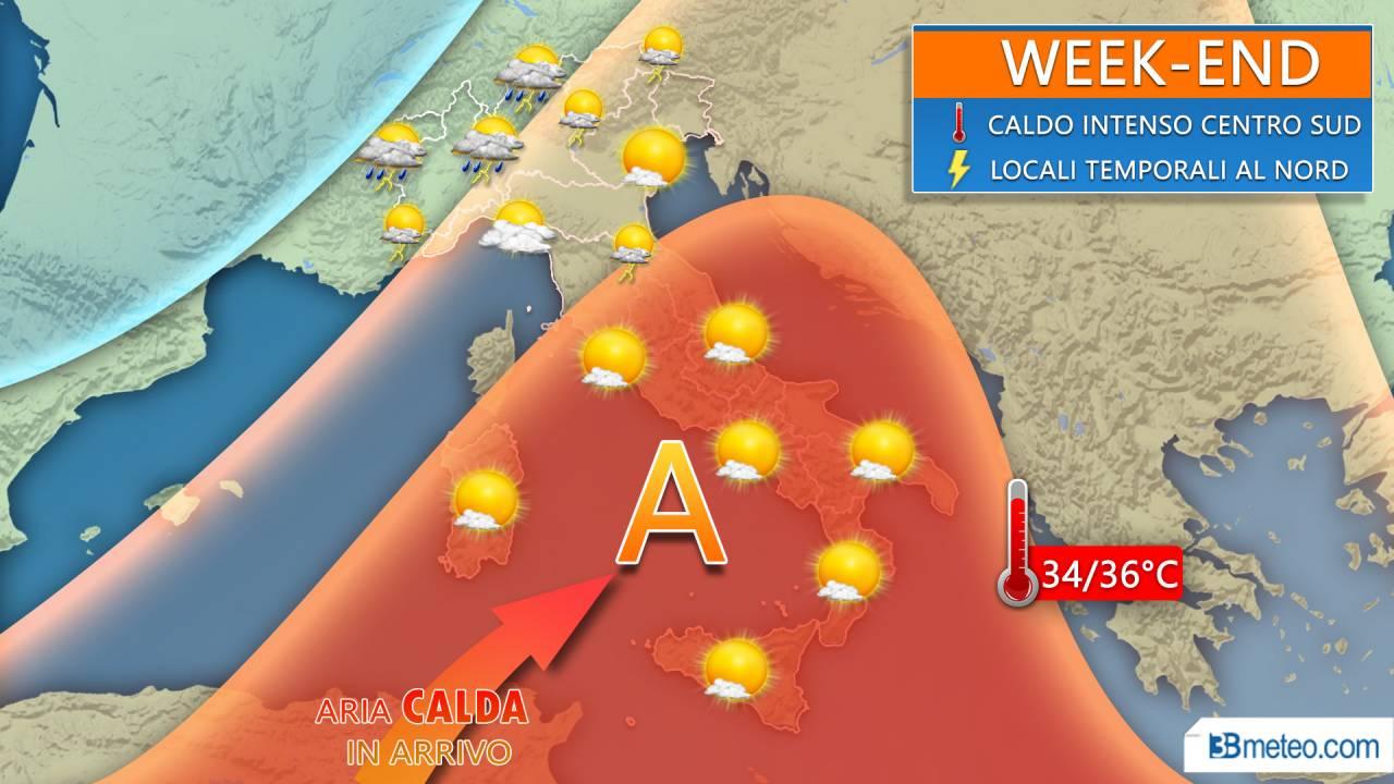Anticipo d'estate: arriva il caldo africano, picchi oltre i 35 gradi