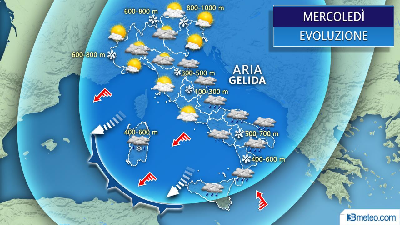Meteo Italia: previsioni di oggi venerdì 27 marzo 2020