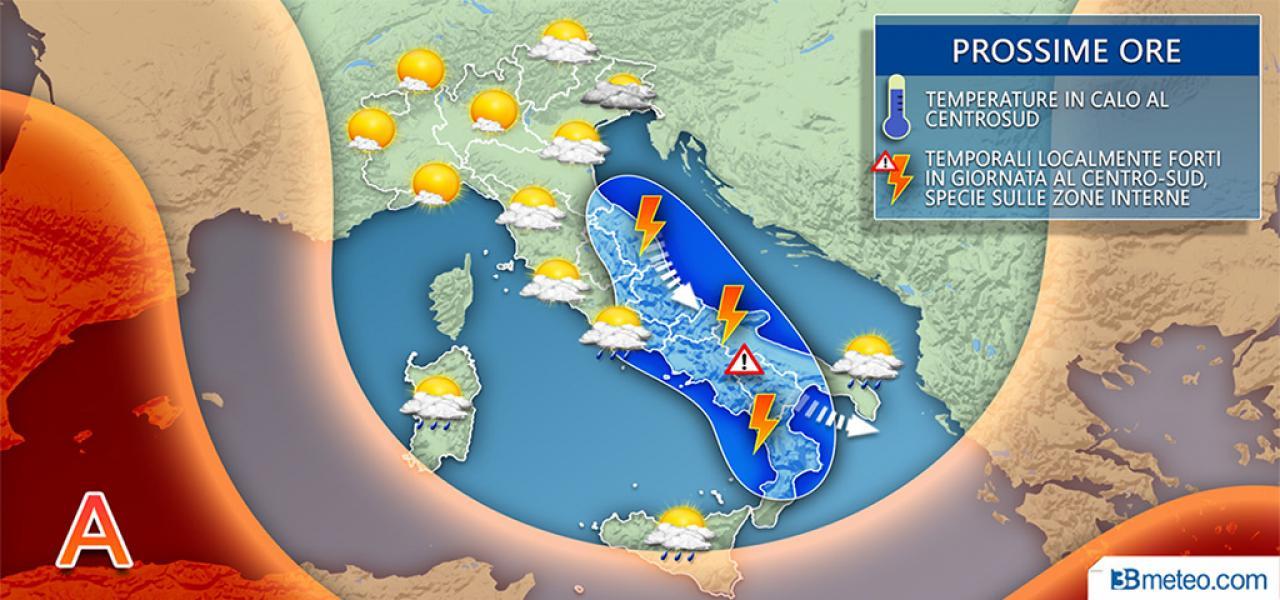 Meteo Italia mercoledi
