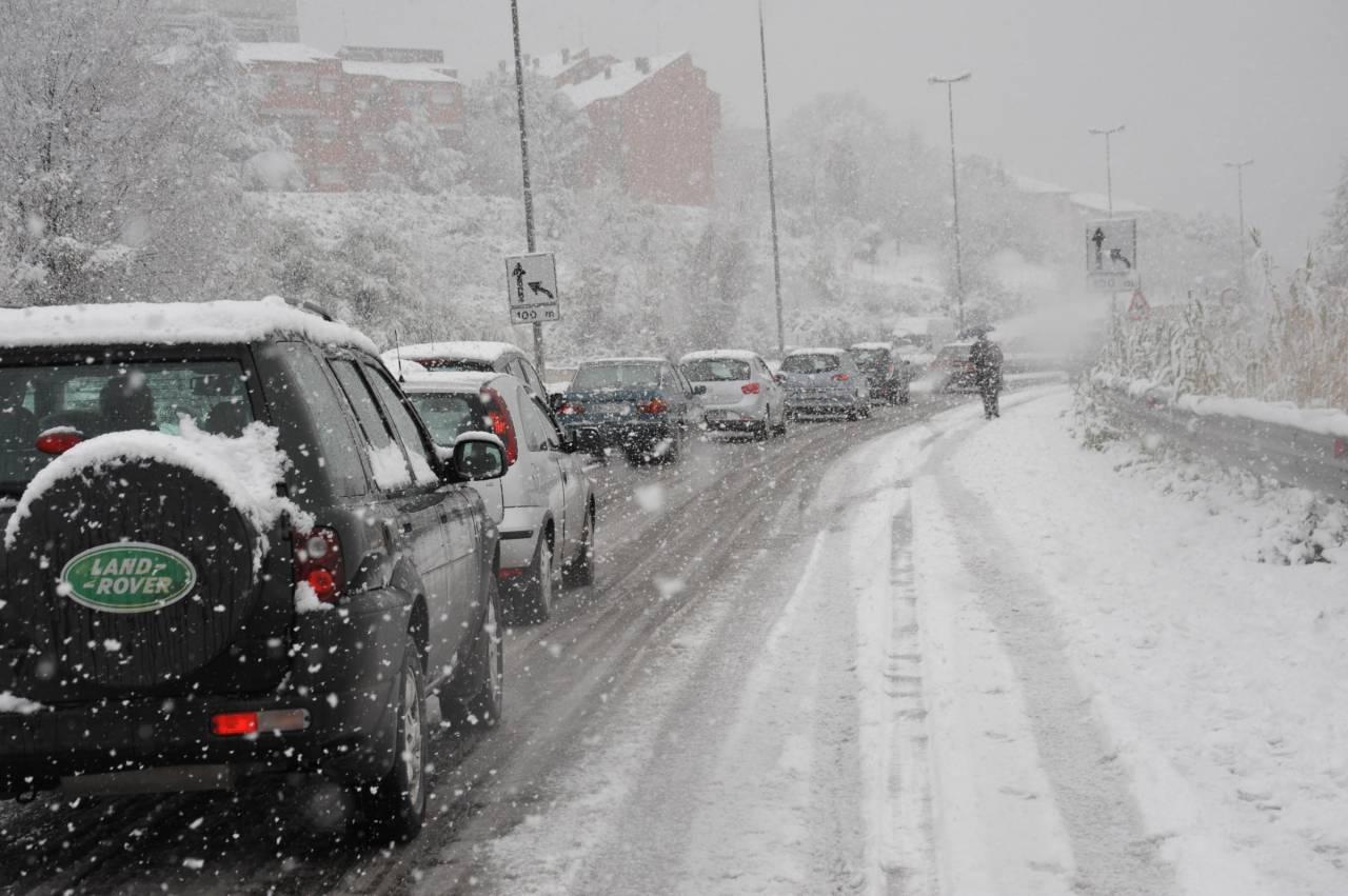Meteo Italia: neve