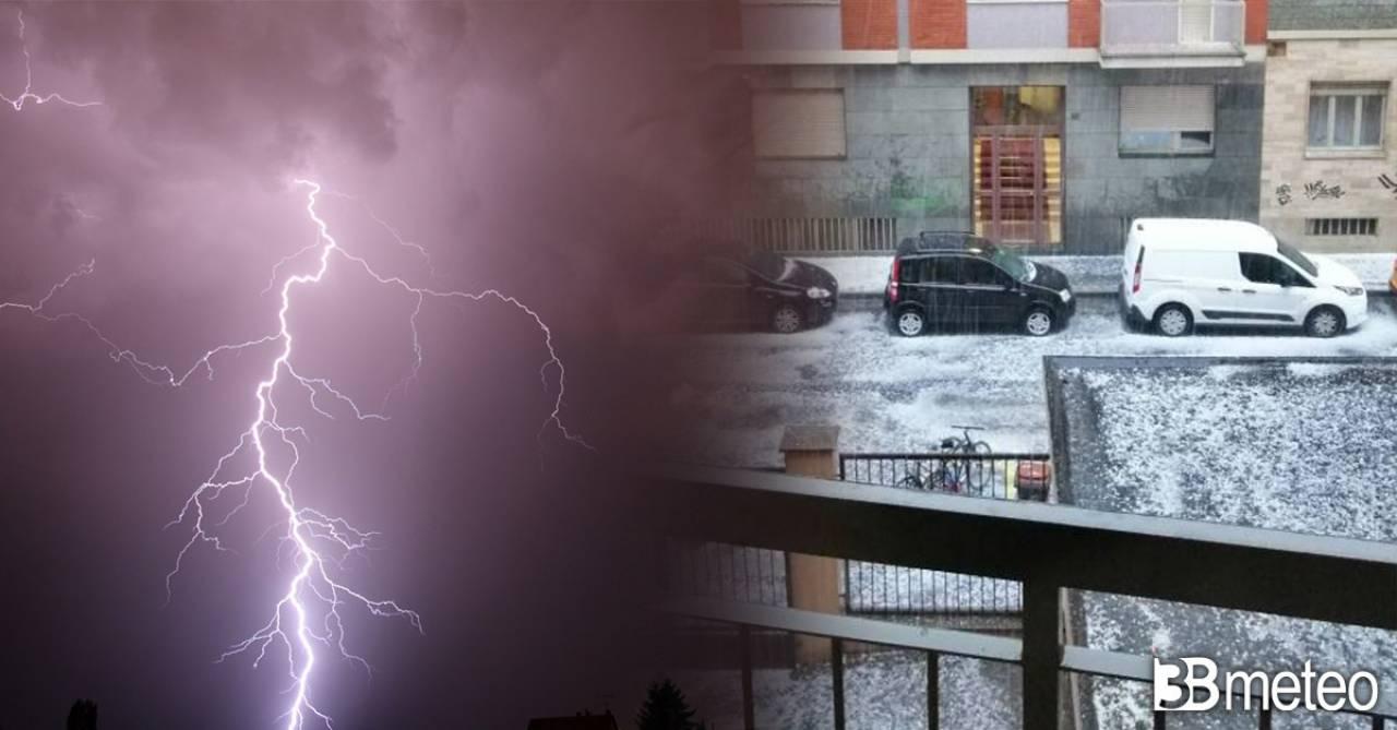 Meteo Italia, nuovi temporali in arrivo