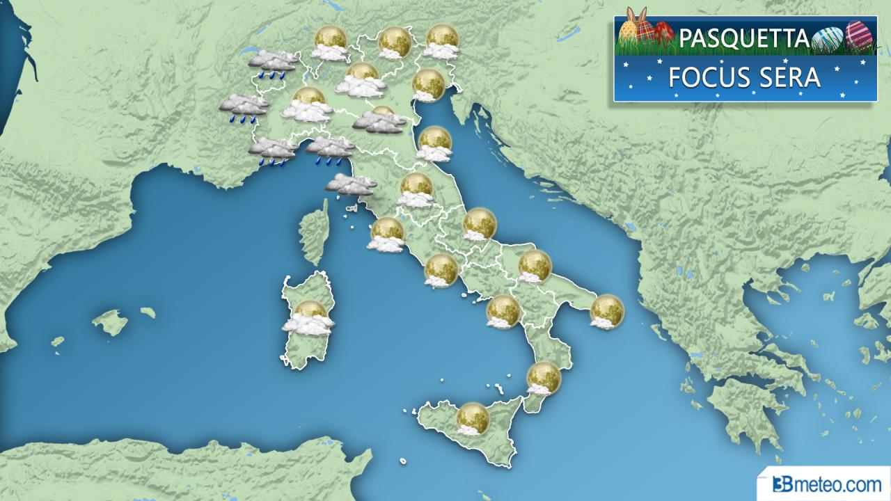 Meteo Italia Pasquetta