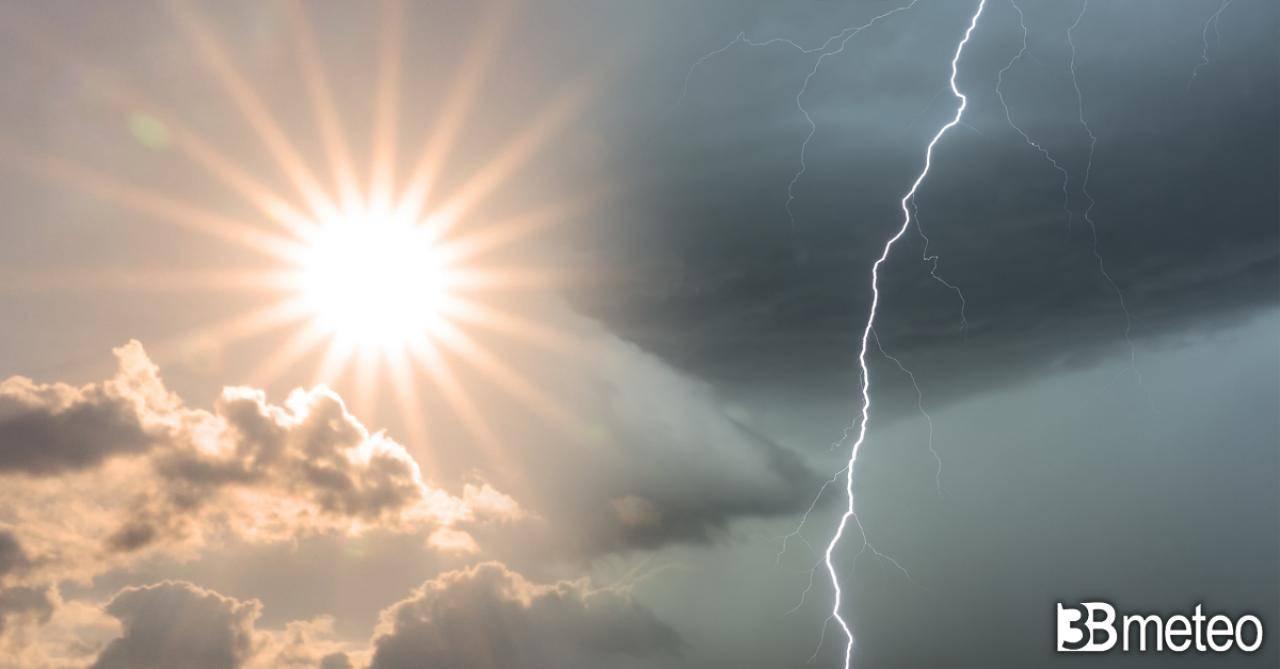 Meteo Italia: prossime ore non solo caldo africano ma anche forti temporali