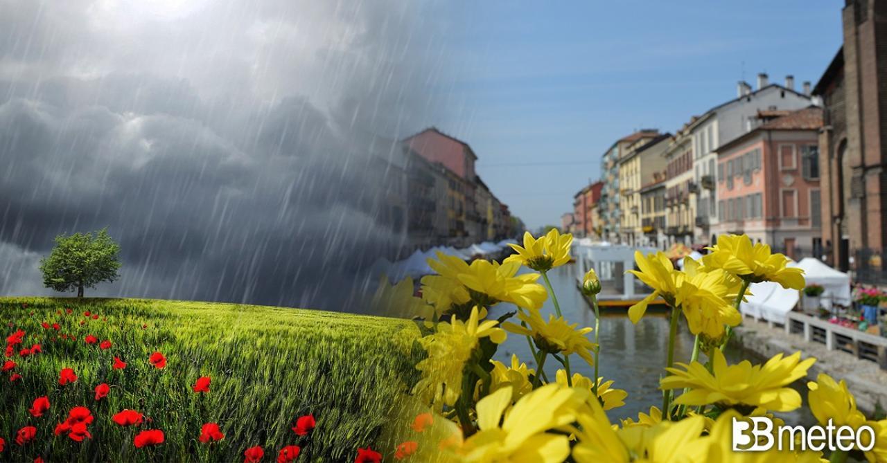 Meteo Italia, sabato tra sole e qualche pioggia