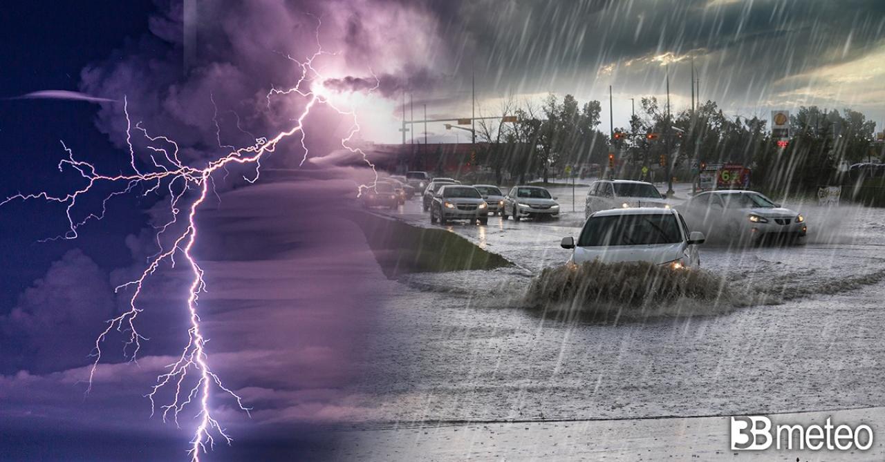 Meteo Italia: tra il 10 e il 12 maggio tornano piogge e temporali