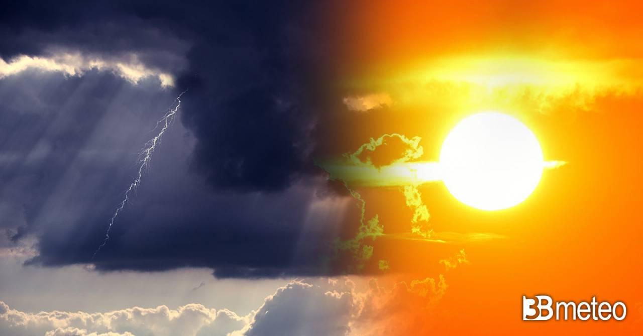 Meteo Italia: venerdì torna qualche temporale al Nord, ancora gran caldo al Centrosud