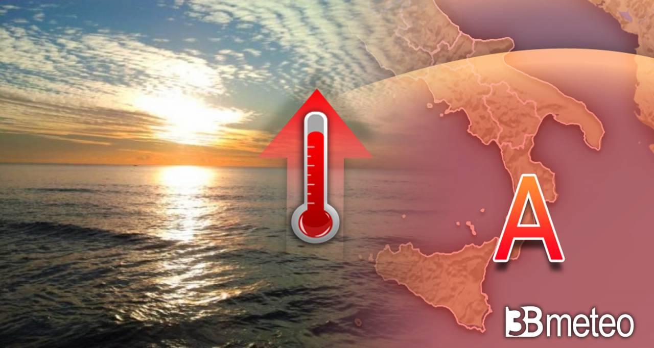Meteo nuova settimana, sole prevalente e caldo al Sud
