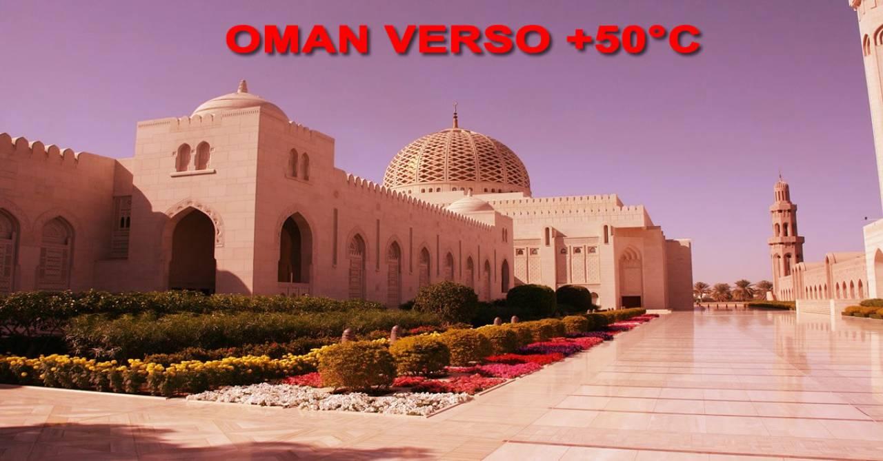 Meteo Oman verso i 50°C