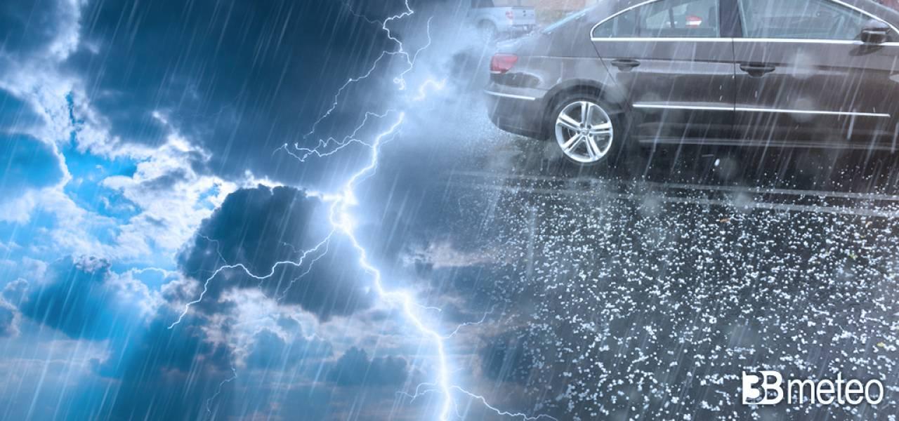 AVVISO meteo: FRONTE FREDDO IRROMPE sull'Italia, PROSSIME ORE ROVESCI E TEMPORALI con clima AUTUNNALE. Situazione e previsioni
