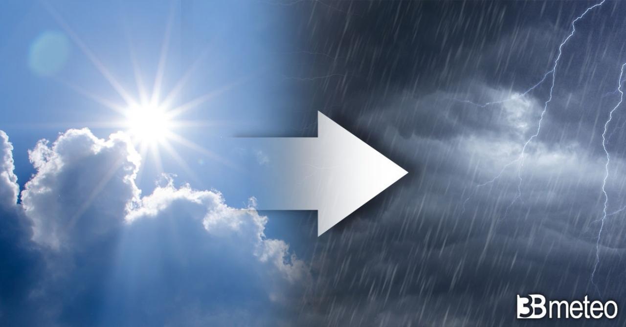 Meteo prossime ore, sole, caldo ma anche alcuni temporali