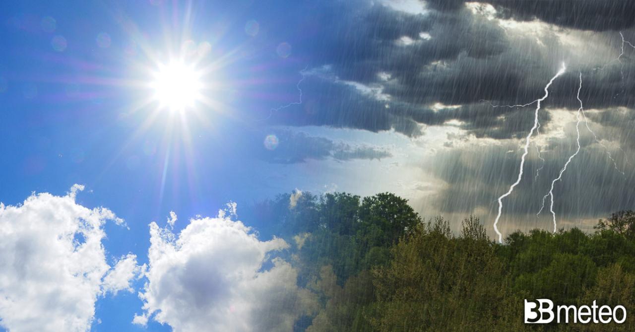 Meteo sabato, sole su gran parte d'Italia ma anche qualche temporale