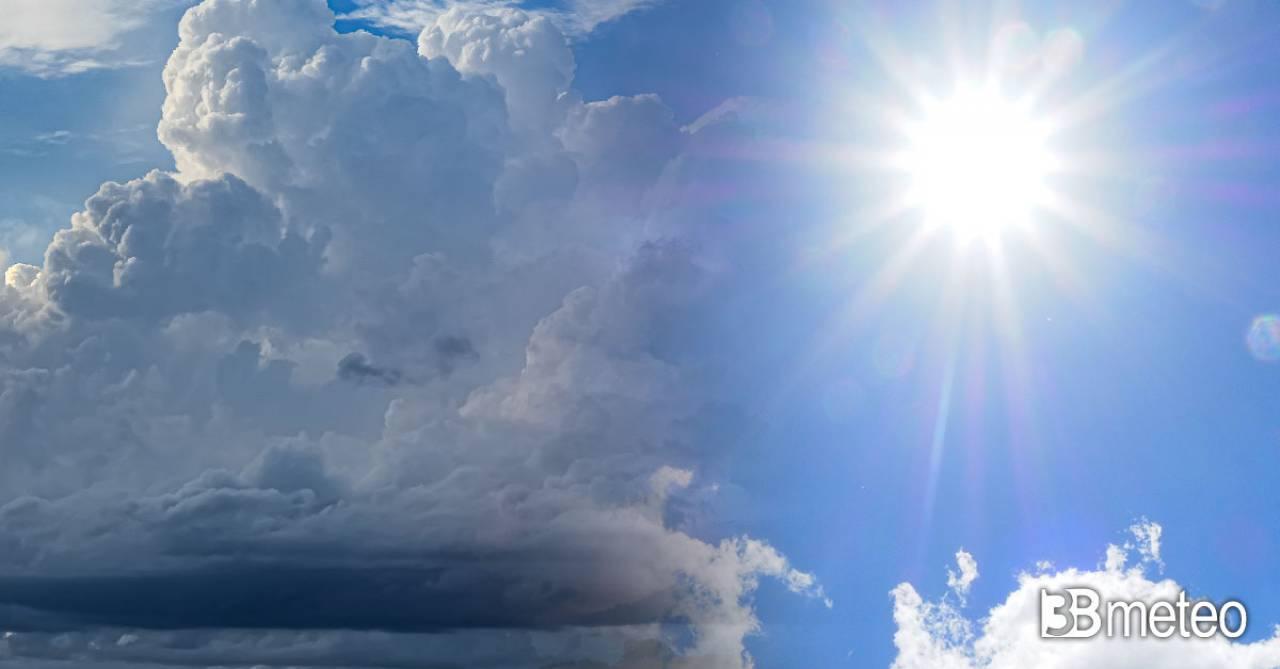 Meteo settimana, fra sole, caldo e qualche temporale