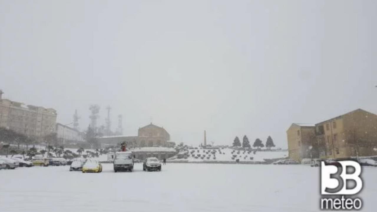 Meteo Sicilia Temporali Di Neve Tra Poche Ore Possibili Disagi