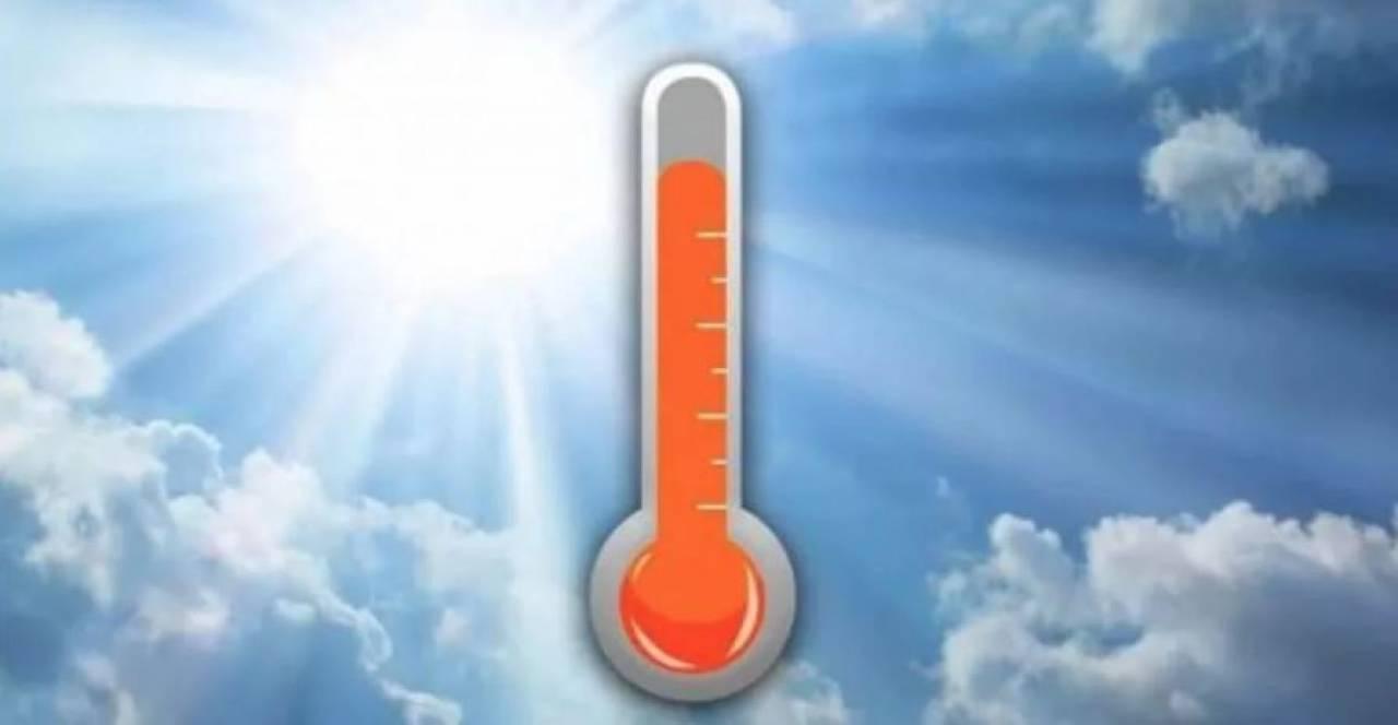 Meteo, Temperature in aumento
