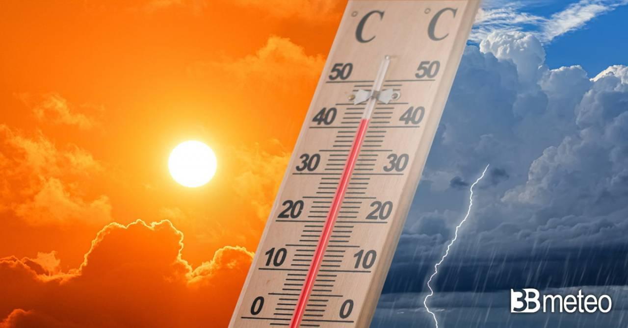 Meteo temperature prossimi giorni