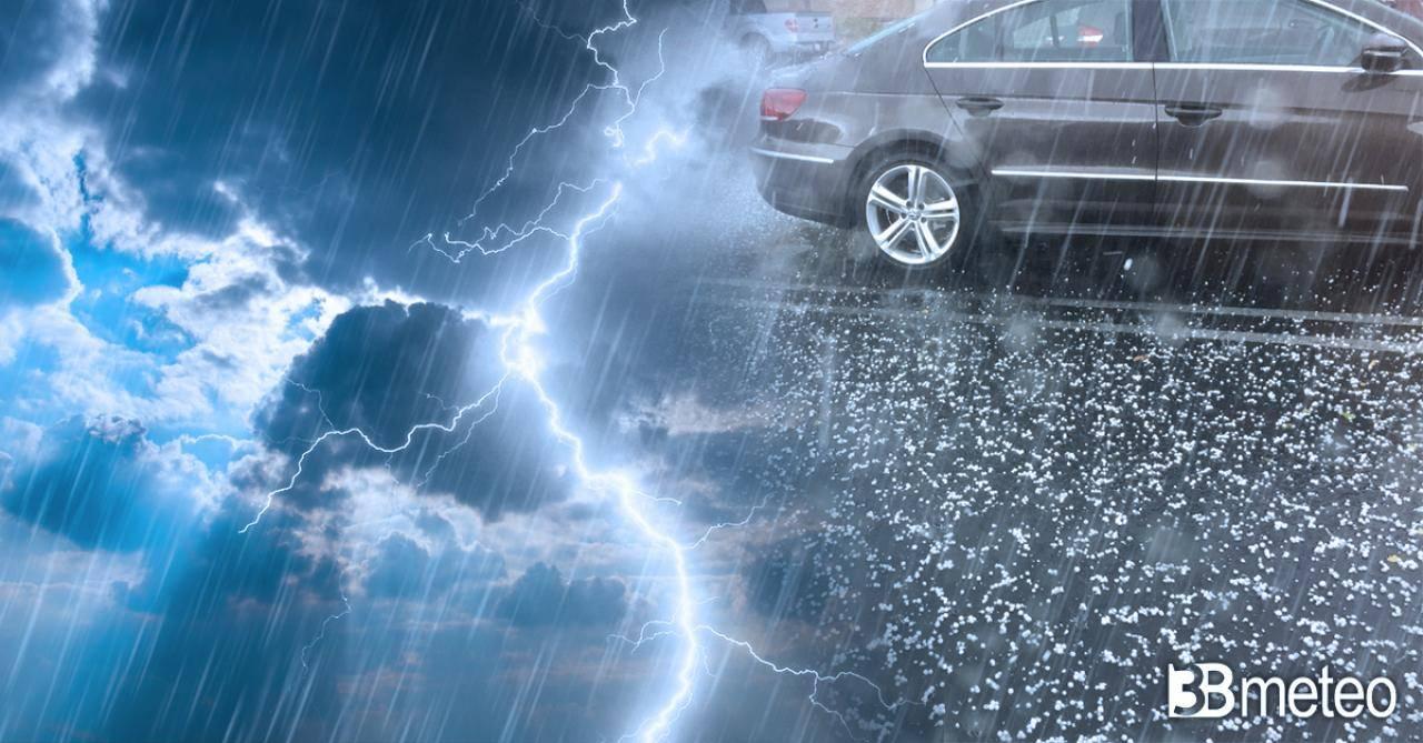 Meteo Trentinio Alto Adige: imminenti forti temporali, rischio grandine e allagamenti