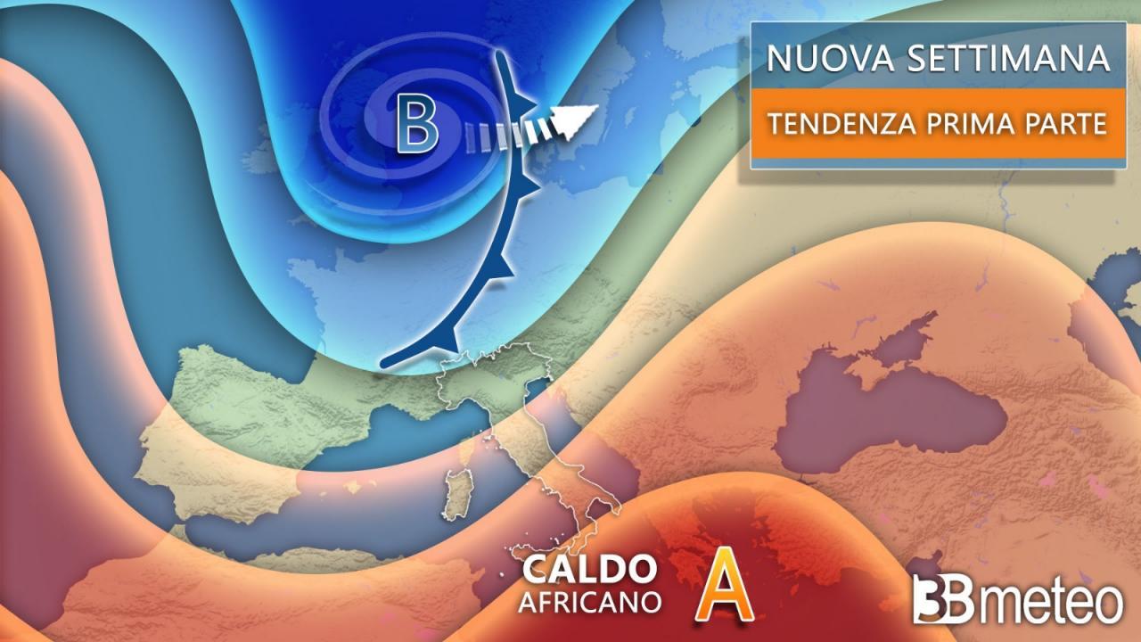 Meteo ultima settimana di maggio, esordio ancora instabile per l'Italia