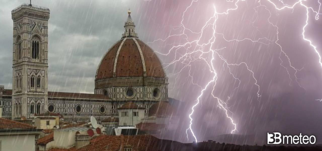 Meteo Weekend a rischio forti temporali
