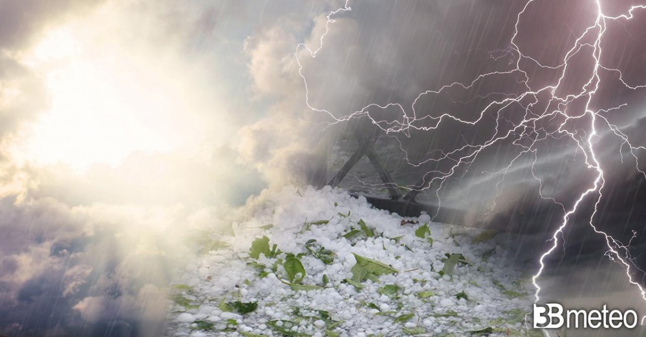 Meteo weekend, forti temporali in arrivo al Nord