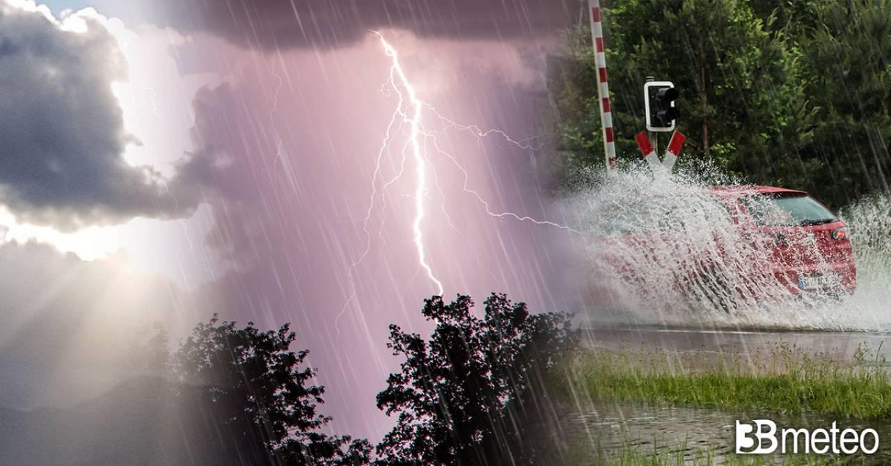 Meteo weekend, qualche pioggia o temporale in arrivo