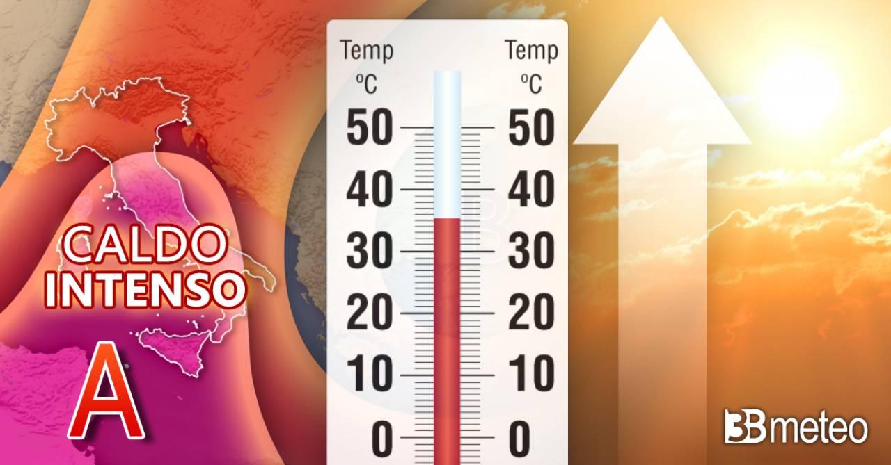 Meteo weekend, sole prevalente e caldo intenso