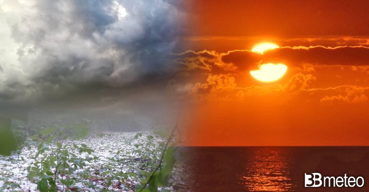 Meteo weekend, tra sole, caldo e temporali