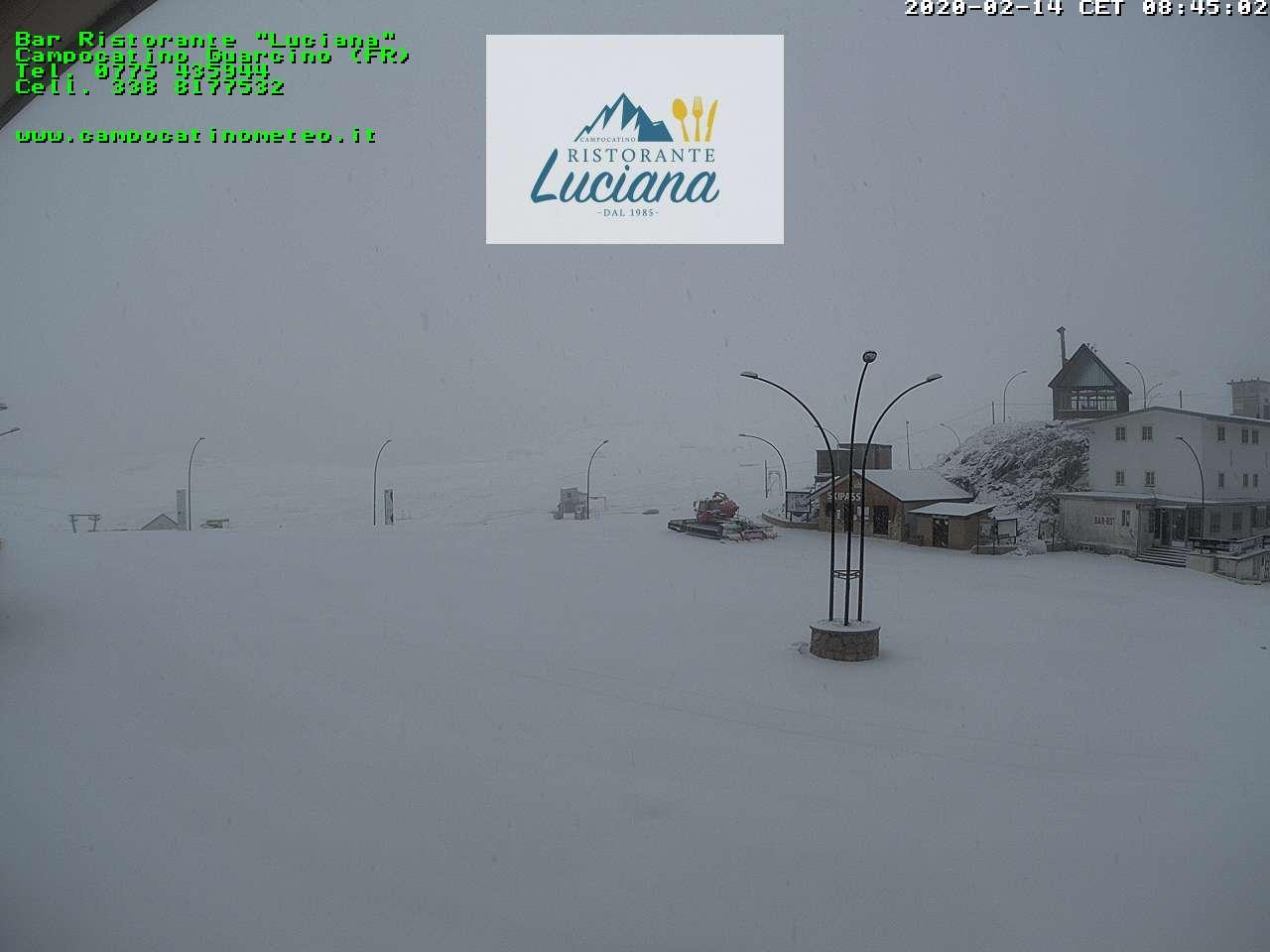 Neve a Campocatino