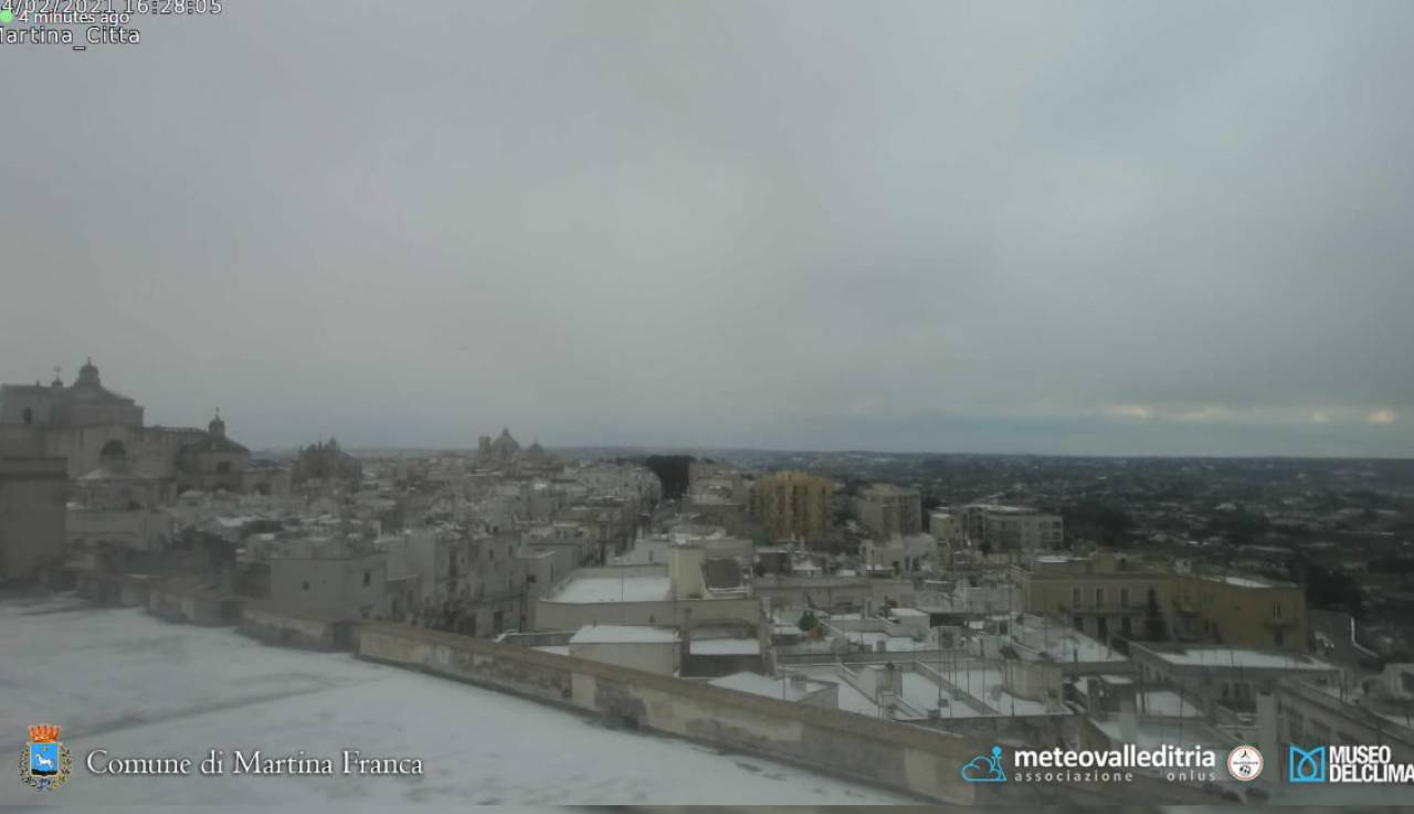 Neve a Martina Franca