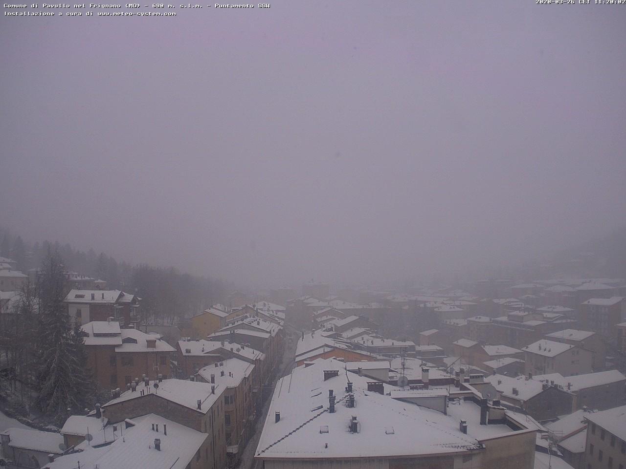 Neve a Pavullo nel Frignano
