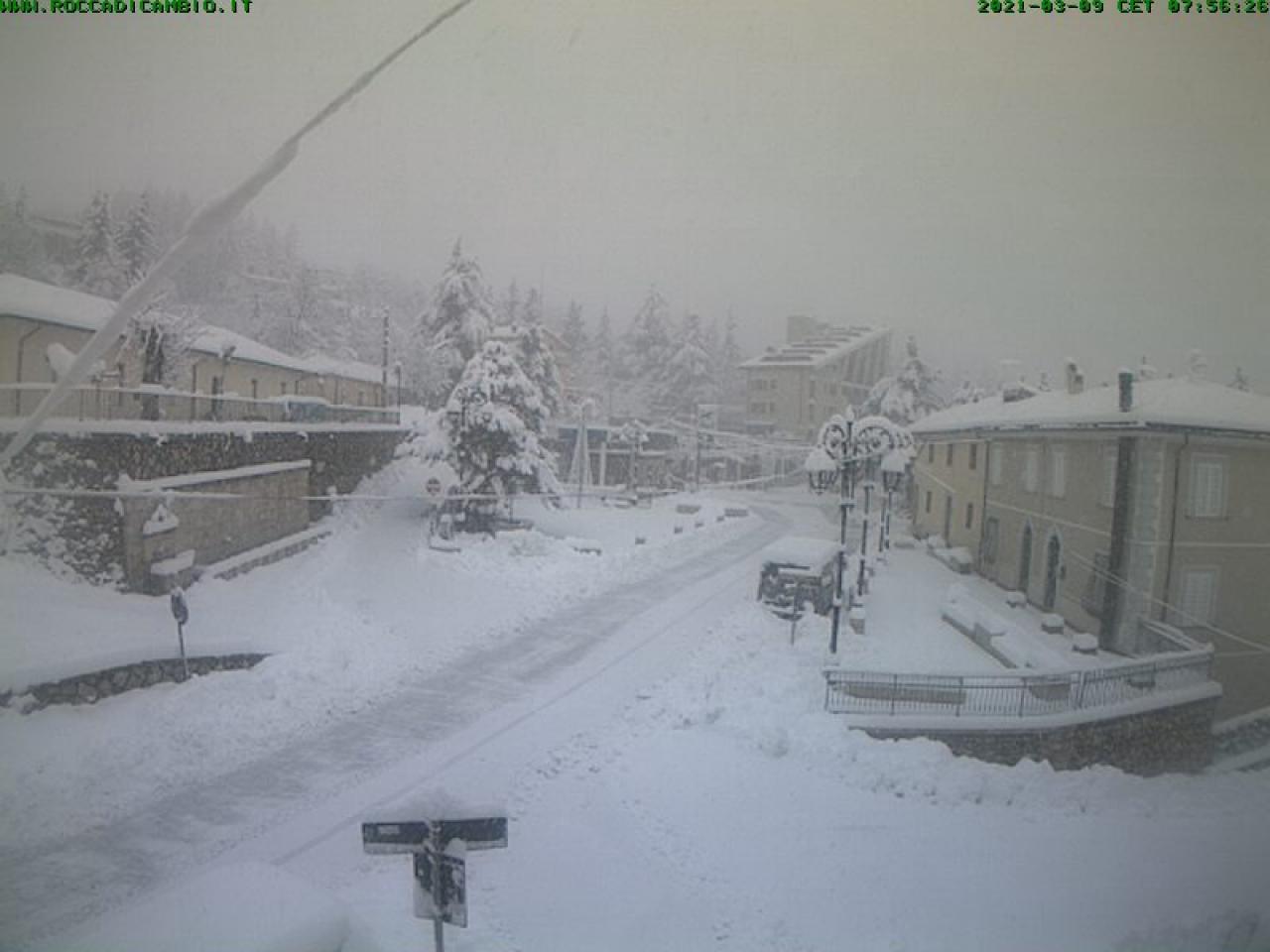 Neve a Rocca di Cambio