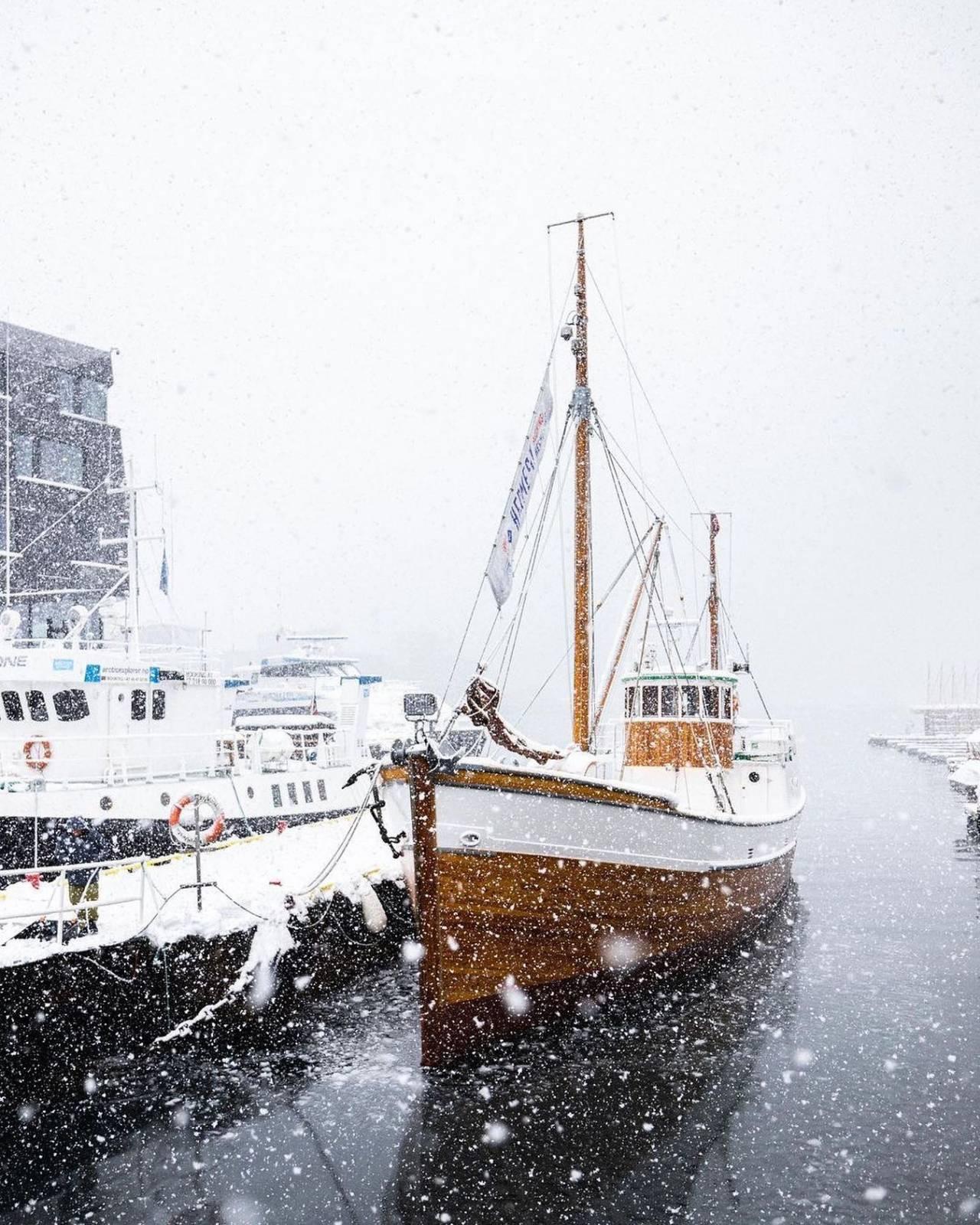 Neve a Tromso - Photo: Magne Håkheim