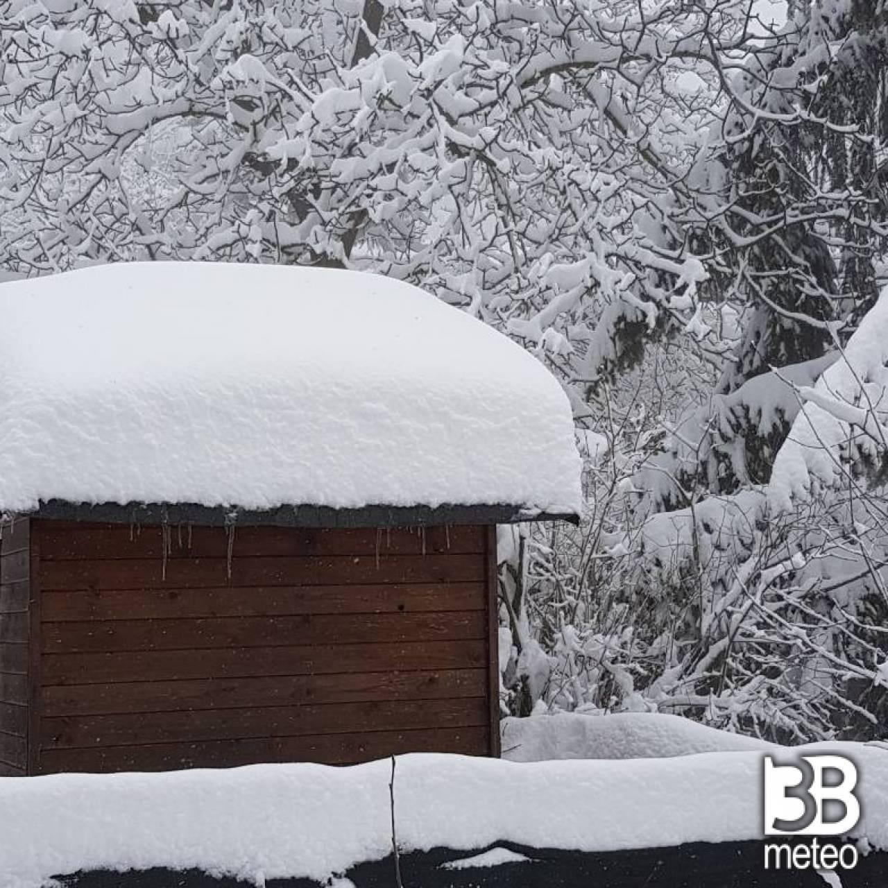 Meteo emilia romagna ancora maltempo venerd neve a tratti in pianura 3b meteo - 3b meteo bagno di romagna ...