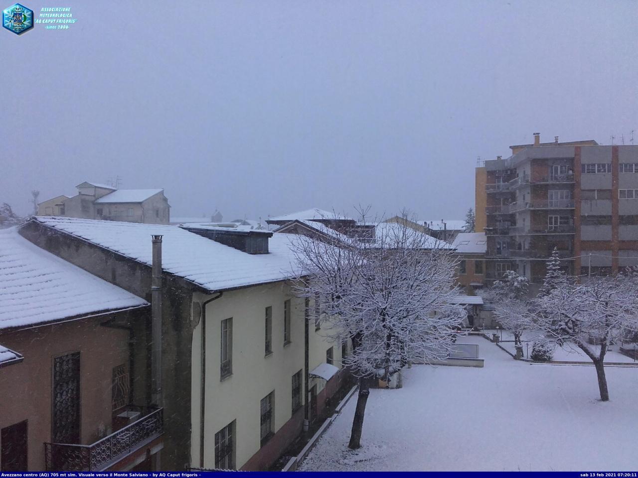 Neve ad Avezzano