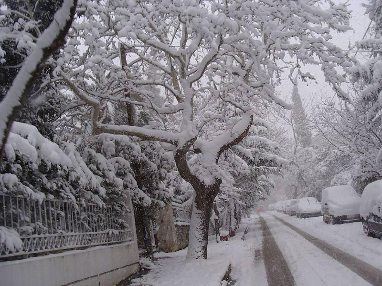 Neve anche in Grecia, abbondante ad Atene
