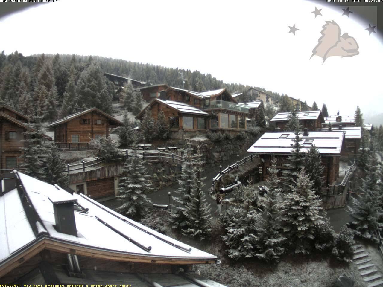 Nevica a Livigno. Fonte: Parkchaletvillage.com