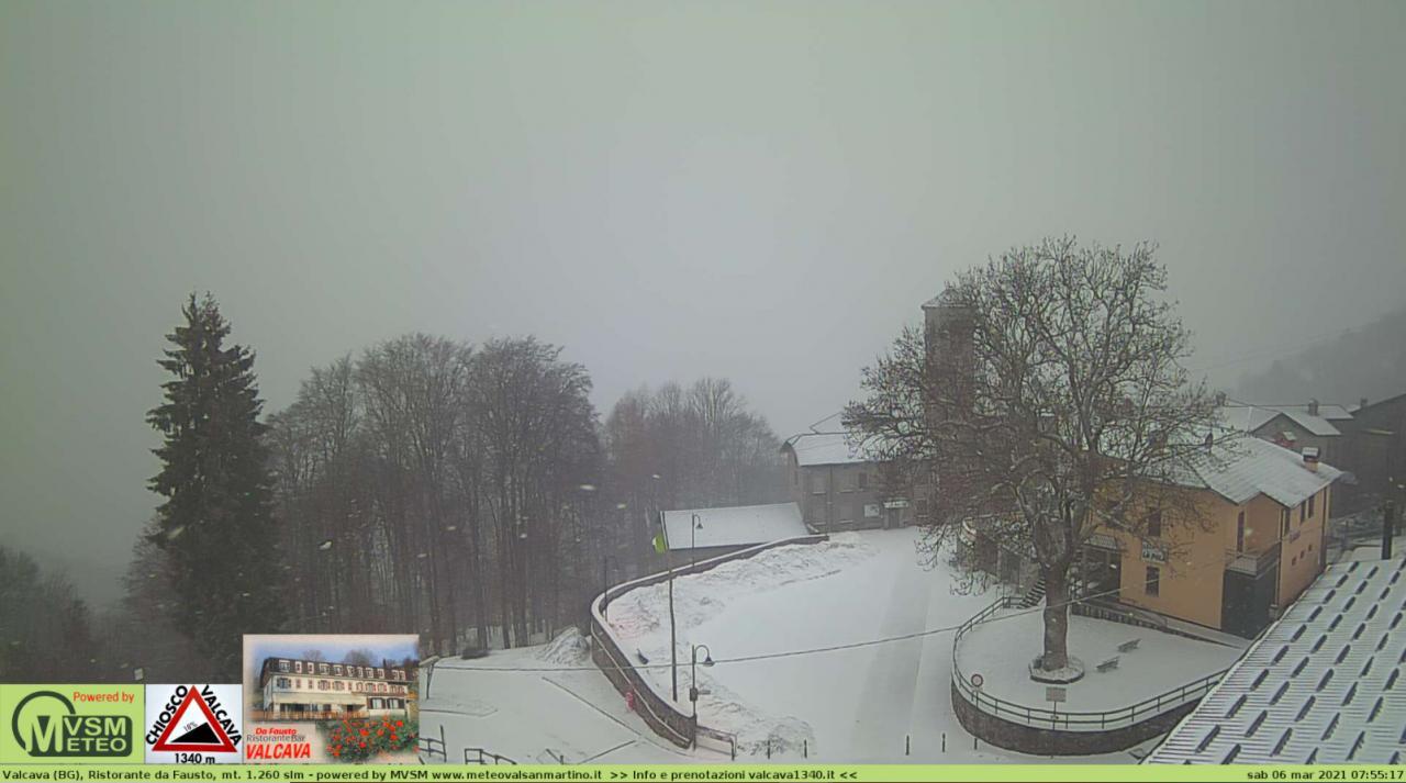 Nevicate sulle Prealpi lombarde da 800-1000m