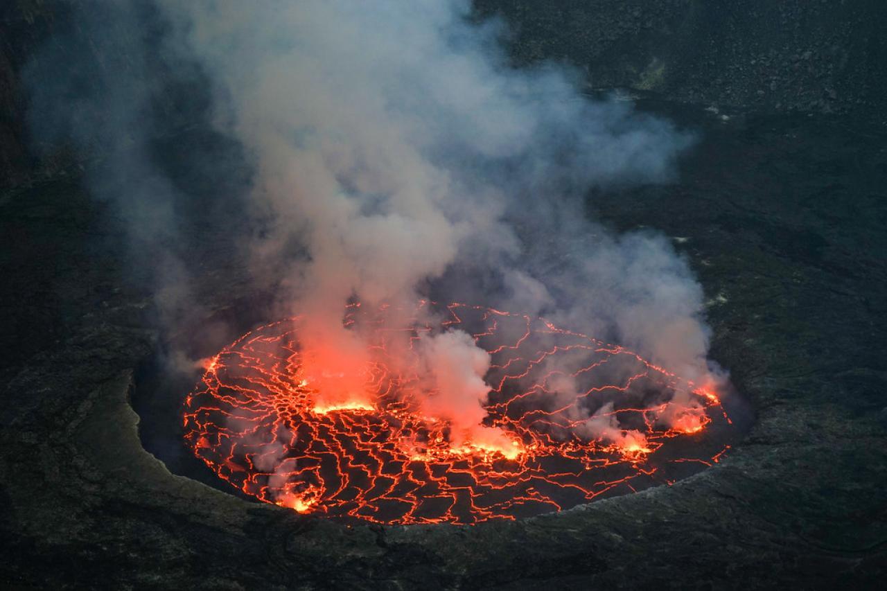 Nyiragongo ad alto rischio eruzione nei prossimi anni
