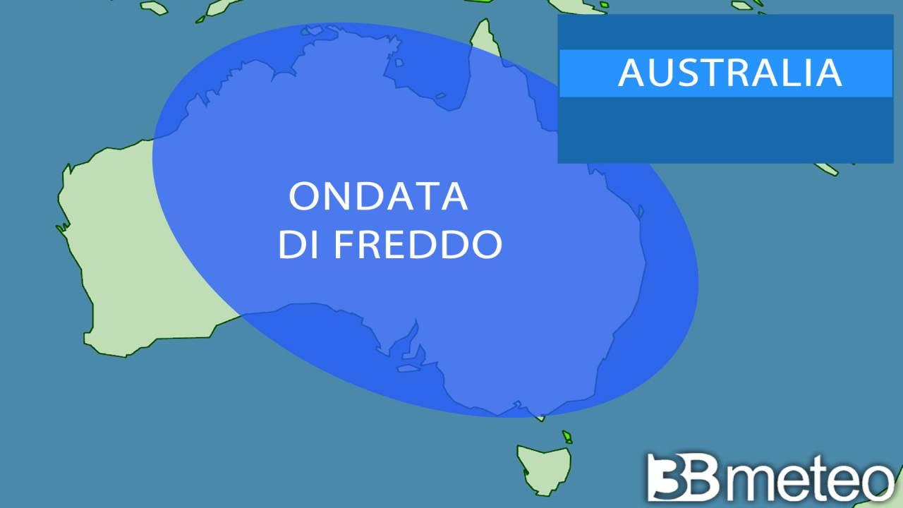 ondata di freddo in Australia