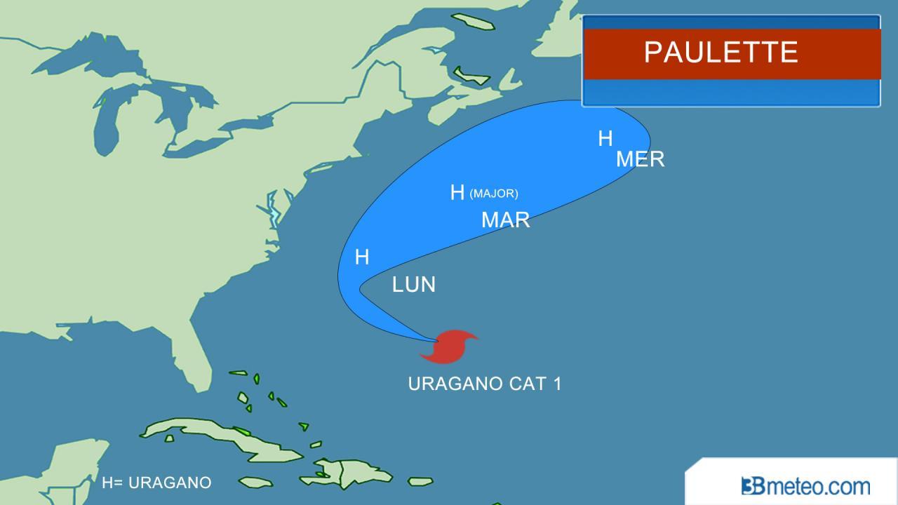 percorso di Paulette
