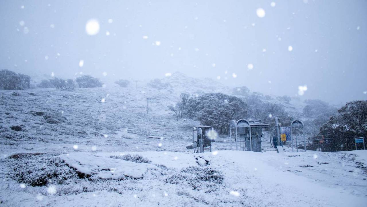 Prima neve in Australia, in netto anticipo sulla stagione invernale