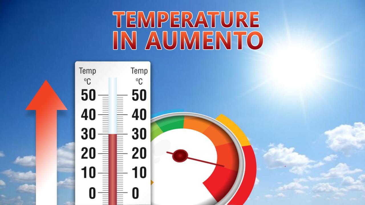 Prima ondata di caldo stagionale, massime fino a 30°C